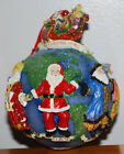 Christopher Radko Around the World Christmas Ornament Santa Claus Earth 5