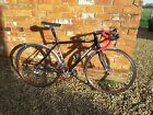 Ribble Winter Road Bike With Mudguards mavic sup helium red wheels