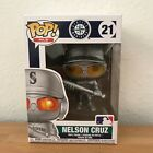 Funko Pop! MLB Nelson Cruz Safeco Field Exclusive Silver Only 23 made
