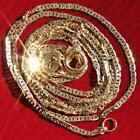 10k yellow gold necklace 18 solid Gucci link chain vintage 08gr very strong