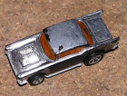 Hot Wheels 1976 57 Chevy Chrome Loose Item Malaysia As Is condition