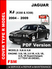 2004 - 2009 JAGUAR XJ XJ8 XJR 2.7L 3.0L 3.5L 4.2L ENGINE SERVICE REPAIR MANUAL