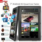 7 Inch Android44 Quad Core Dual Camera Tablet 8GB Bluetooth Wifi Tablet Gift WN