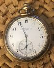 Antique 1904 14K Gold Filled Elgin Pocket Watch S12 15J Decorated Case Works!