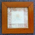 Old Providential Tile Trenton NJ With Tile Mat in Wide Old Wood Frame w Gold Lip