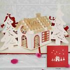 Hot 3D Handmade Greeting Card Christmas Wedding Anniversary Invitation Card New