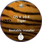 Apple Mac OS X 104 Tiger Bootable DVD Clean Installer Update Upgrade OSX