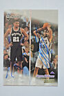 Tim Duncan & Jayson Williams On Card AUTO's 1998 99 Topps Stadium Cosigners