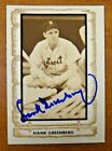 Hank Greenberg Cards, Rookie Cards and Autographed Memorabilia Guide 28