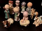 Children Christmas Nativity Set 10 Piece