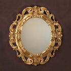 Exquisite Carved Wood Gold Leaf Mirror,Made In Italy,36.5'' x 40.5''H