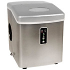Edgestar IP210SS1 Portable Ice Maker, Stainless Steel/Silver