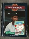 BASEBALL LEGENDS LOU GEHRIG BOOK  CARDS NEW IN SEALED PACKAGING BRAND NEW