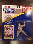 1991 Starting Lineup JIM ABBOTT Action Figure w/ Coin & Card Angels MLB  SLU NEW