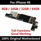 Original Mainboard For Apple iPhone 4S 100 Full Unlocked Official Version