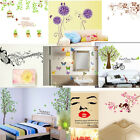 Decal Wall Sticker DIY Removable Art Mural kitchen Girls Home Room 9 modes FDA