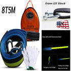 Car Tow Cable Emergency Tow Rope Heavy Duty Straps 5M 8T with Hooks Warning Glow