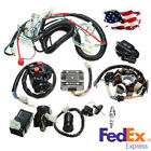 Electric Wire Harness Assembly For 125 150 200 250 CC Push Rod Engine Motorcycle