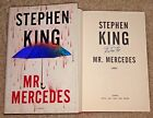 STEPHEN KING SIGNED MR MERCEDES HARDCOVER 1ST 1ST BOOK AUTHOR SHINING IT CARRIE