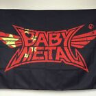 BABYMETAL FLAG Black and Red Free Shipping Metal Dance unit Japanese idol