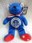 The Petting Zoo Presidential Bear 44th President Barak Obama w Tag