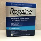 Rogaine Men's Topical Solution Extra Strength 5% Minoxidil - 3-Month Supply -NEW