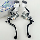 2X Motorcycle Hydraulic Brake Clutch Master Cylinder Pump Aluminum Alloy Lever