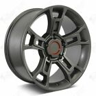 20 OR Pro Style Gunmetal Wheels Fits Toyota Tundra Sequoia Land Cruiser