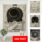 Magical Moon Sun Tarot Tapestry Wall Hanging Bedspread Large Tapestries