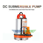 DC12V 260W Mini Submersible Motor Pump Water Pumps 328ft head With 82ft Cord