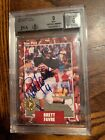 1991 STAR PICS #65 BRETT FAVRE GREEN BAY PACKERS ROOKIE CARD GEM MINT PSA 9 AUTO