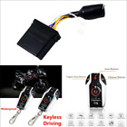 Motorcycle ATVs PKE 2-Way Alarm Anti-theft Security System Remote Engine Starter