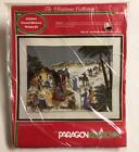 Paragon Needlecraft The Christmas Collection NATIVITY Crewel Kit NIP