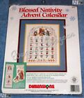 Dimensions BLESSED NATIVITY ADVENT CALENDAR Counted Cross Stitch Christmas Kit
