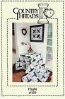 Country Threads Flight Airplane Quilt Pattern FREE SHIPPING