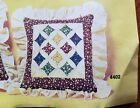 Artcraft Concepts CATHEDRAL PATCHWORK PILLOW KIT  4402 quilting 1979 VTG