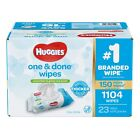 Huggies One  Done Baby Wipes Scented 1104 ct