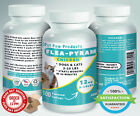 100 CAPSULES Flea Killer For DOGS and CATS 2 25 Lbs 12 Mg CHICKEN Flavored