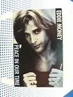 EDDIE MONEY - Peace In Our Time / Where's The Party - NEAR MINT 1989 Single Cass