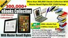 350K PLR ARTICLES + 2000 EBOOKS + 650 NICHES! FREE SHIPPING ALL RESELL RIGHTS!