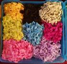 Hand Crinkled Seam Binding Ribbon 30 yards 10 Colors Mixed Lot Scrapbook Cards