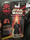 NEW Star Wars EP 1 Darth Maul Sith Lord w Removable Lightsaber Commtech Chip