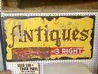 original wood antique shop folk art primitive sign cool!!
