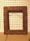 Antique Victorian Hand Carved Wood Gilt Picture Frame 8 x 10