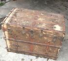Vintage Steamer Trunk from the 1800s Don't miss out