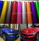 Full Roll Candy Metallic Glossy Vinyl Car Wrap Film Sticker Decal Bubble Free