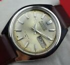 GENUINE VINTAGE SEIKO 5 ACTUS AUTOMATIC JAPAN MEN'S DAY DATE WORKING WATCH Q0930