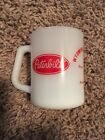Peterbilt Wyoming Riverton federal heat proof coffee mug milk glass vintage