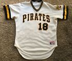Vintage 1990s Pittsburgh Pirates Andy Van Slyke Rawlings Authentic Jersey 44