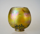 """Fitter Hand Blown Glass Shades Iridescent Replacement Bohemian Lamp Shade"